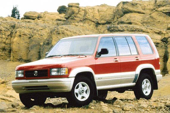 1996 Acura SLX Review