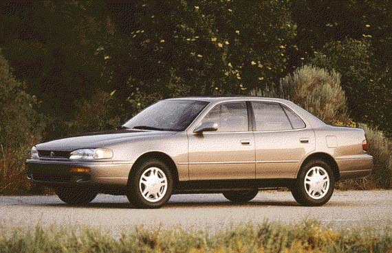 Honda Accord Used >> 1996 Toyota Camry Review