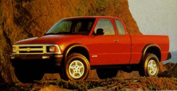 1996 Chevrolet S-Series