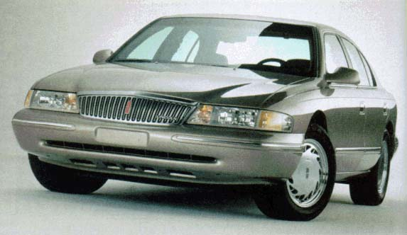 1996 Lincoln Continental Review