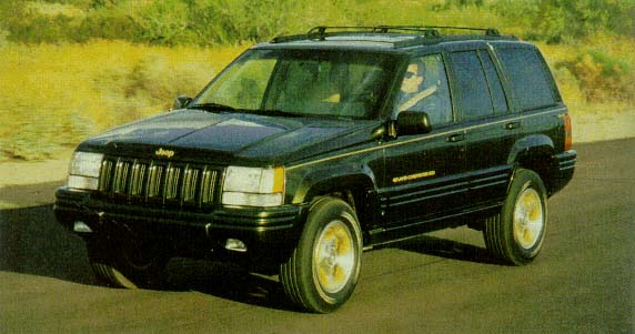 1996 Jeep Grand Cherokee Review