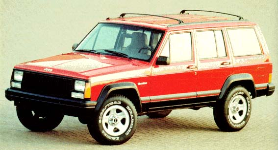 1996 Jeep Cherokee Review