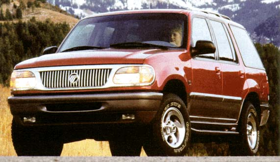 1996 Mercury Mountaineer Review