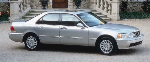 1998 Acura 35 RL Review