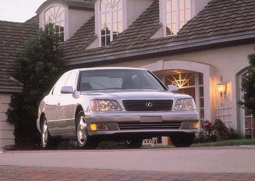 1998 lexus ls 400 review