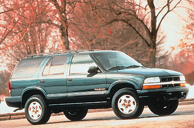 1999 Chevrolet Blazer Review
