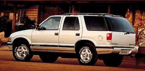 How Much Is A Land Rover >> 1997 Chevrolet Blazer Review