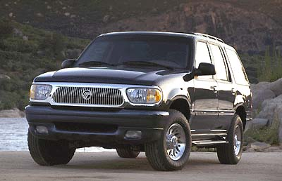 Ford Explorer Models >> 2000 Mercury Mountaineer Review