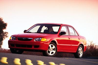 2000 Mazda Protégé