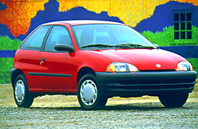 2000 Suzuki Swift Review