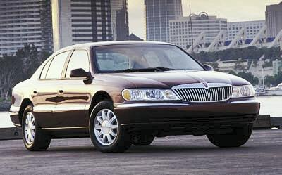 2000 Lincoln Continental Review