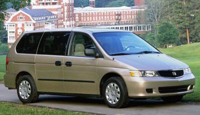 2001 Honda Odyssey Review