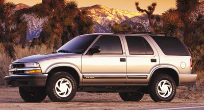 2001 Chevrolet Blazer Review