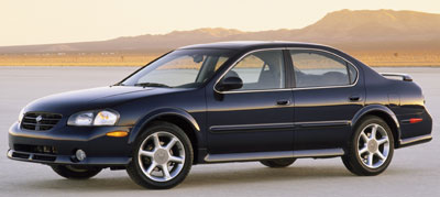 2001 nissan maxima review