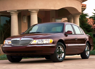 2001 Lincoln Continental Review