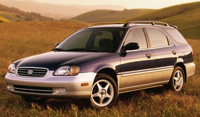 2001 Suzuki Esteem Review