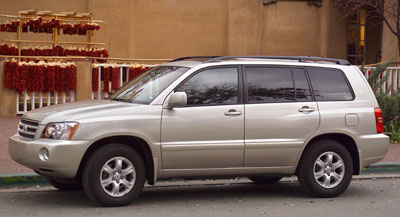 2002 Toyota Highlander Review