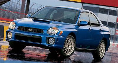 2002 Subaru Impreza Review