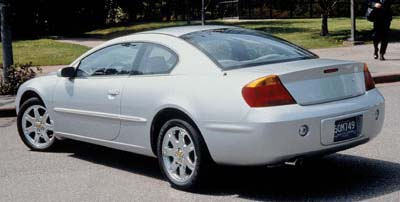 2002 sebring coupe