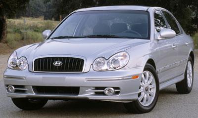 Superior 2002 Hyundai Sonata