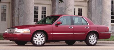 2003 Mercury Grand Marquis Review