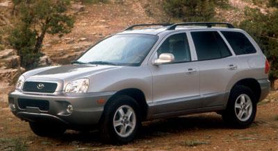 Santa Fe SUV 03 2003 Hyundai Owners Owner/'s Manual
