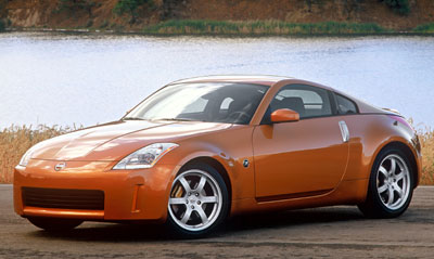 2003 nissan 350z review