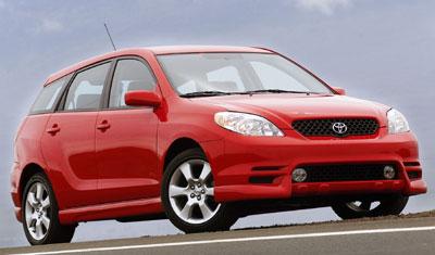 2004 Toyota Matrix Review