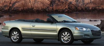2004 chrysler sebring gtc convertible specs