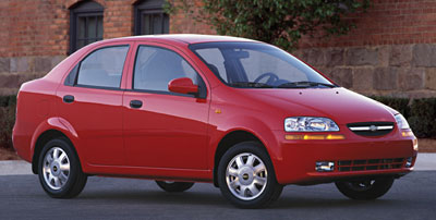 2004 Chevrolet Aveo Review