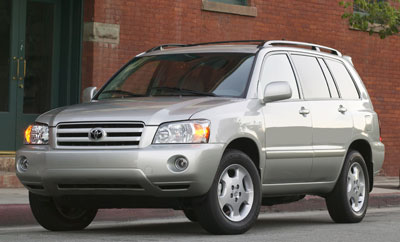 Toyota Highlander Review - 2004 highlander