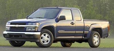 2005 chevy colorado engine size