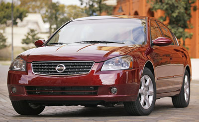 2005 nissan altima review