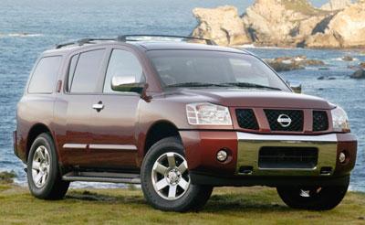 2004 Nissan Armada Review
