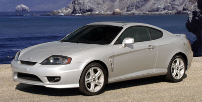 2006 Hyundai Tiburon Review