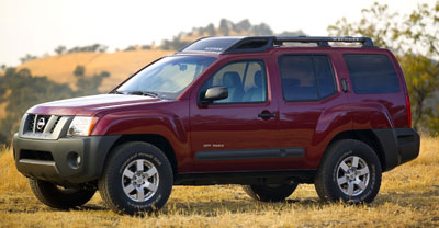 2006 nissan xterra towing capacity