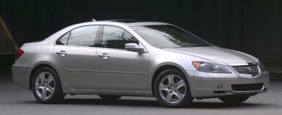 Acura RL Review - 2006 acura rl a spec