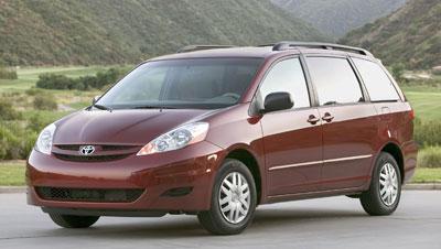 Toyota Sienna Review - 2006 sienna