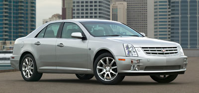 2006 Cadillac STS Review