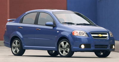 2007 Chevrolet Aveo Review