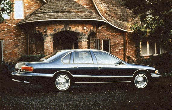 1996 Chevrolet Caprice Impala Review