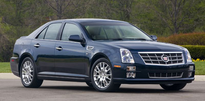 2008 Cadillac Sts Review