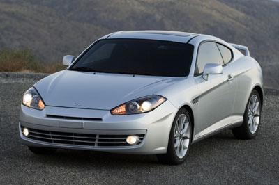 2008 Hyundai Tiburon Review