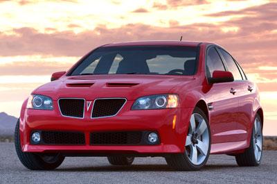 2008 Pontiac G8 Review