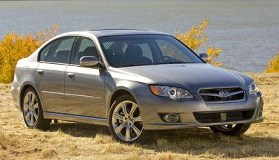 2008 Subaru Legacy Review