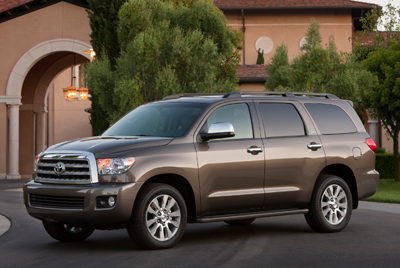 Toyota Sequoia Towing Capacity >> 2011 Toyota Sequoia Review