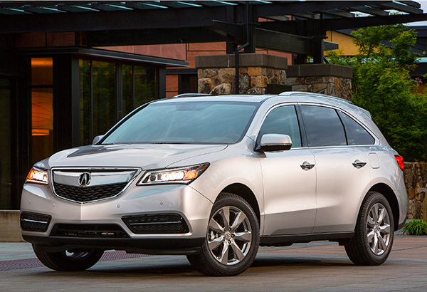 Acura MDX Review - Acura mdx roof rails