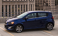 2016 Chevrolet Sonic Review