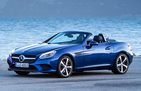 Find Car New Used The 2017 Mercedes Benz Slc