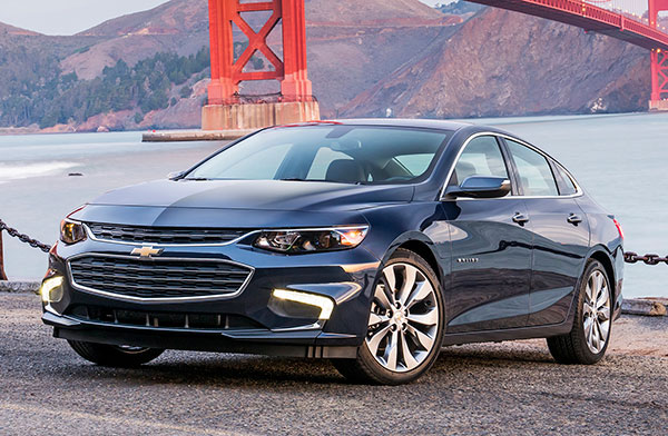 New Car Test Drive >> 2018 Chevrolet Malibu - NewCarTestDrive
